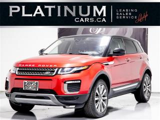Used 2016 Land Rover Range Rover Evoque HSE, NAVI, Driver ASSIST, Heads UP, CAM, Pano Range Rover Evoque for sale in Toronto, ON
