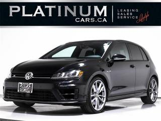 Used 2017 Volkswagen Golf R 4MOTION, NAVI, Tech PKG, APP CONNECT, Adapt Cruise for sale in Toronto, ON