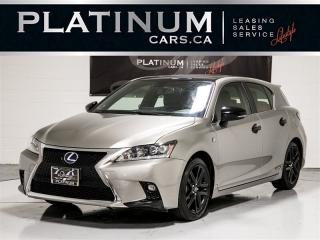 Used 2016 Lexus CT 200h F-SPORT, BLUETOOTH, USB CONNECT, Heated Seats for sale in Toronto, ON