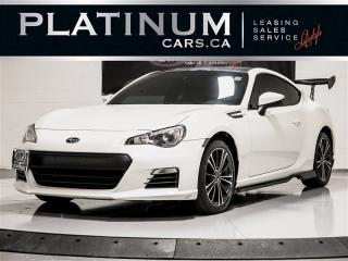 Used 2015 Subaru BRZ NAVIGATION, MANUAL, DUAL CLIMATE, HEATED SEATS for sale in Toronto, ON