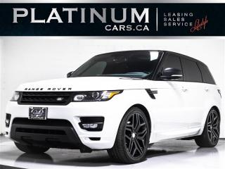 Used 2016 Land Rover Range Rover Sport SUPERCHARGED V8, AUTOBIOGRAPHY, NAVI, PANO 360 CAM for sale in Toronto, ON