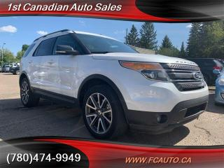 Used 2015 Ford Explorer XLT Fully Loaded LOW Payments for sale in Edmonton, AB
