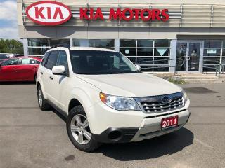 Used 2011 Subaru Forester X Convenience,awd,pw,pl,air,keyless for sale in Peterborough, ON