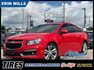 Used 2015 Chevrolet Cruze 2LT Navi|Leather|RS PKG|Sunroof| for sale in Mississauga, ON