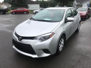 Used 2014 Toyota Corolla CE for sale in Québec, QC