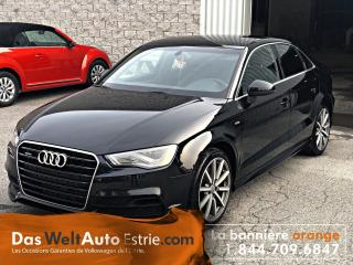 Used 2015 Audi A3 2.0T Technik S-Line Cuir, Toit, Automatique for sale in Sherbrooke, QC