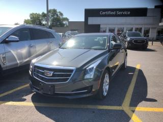 Used 2016 Cadillac ATS Sedan Luxury Collection  2.0 TURBO, BACK UP CAMERA, SUNROOF, LEATHER for sale in Ottawa, ON