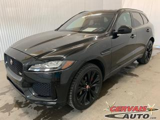 Used 2017 Jaguar F-PACE S AWD GPS Cuir Toit Panoramique MAGS Caméra for sale in Shawinigan, QC