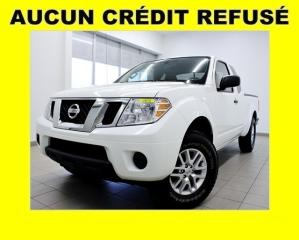 Used 2015 Nissan Frontier SV 4X4 *BLUETOOTH* GR. REMORQUAGE *BEDLINER* PROMO for sale in St-Jérôme, QC