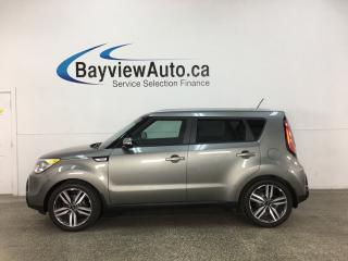 Used 2015 Kia Soul SX - PANOROOF! LEATHER! NAV! + MORE! for sale in Belleville, ON