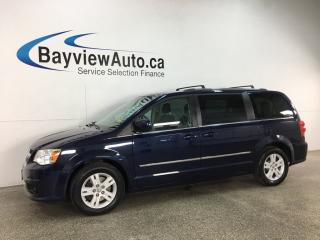 Used 2013 Dodge Grand Caravan Crew - STOW 'N GO! 3 ZONE CLIMATE! REVERSE CAM! ALLOYS! for sale in Belleville, ON