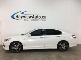 Used 2017 Honda Accord Sport - AUTO! 1/2 LTHR! HTD SEATS! SUNROOF! for sale in Belleville, ON
