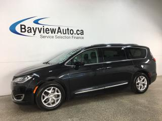 Used 2018 Chrysler Pacifica Touring-L Plus - HTD LTHR! PANOROOF! 3 ZONE CLIMATE! PWR DOORS! DVD/BLU-RAY! for sale in Belleville, ON