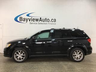 Used 2018 Dodge Journey GT - ONLY 15,000KMS! 7 PASS! AWD! DVD! NAV! LTHR! SUNROOF! for sale in Belleville, ON