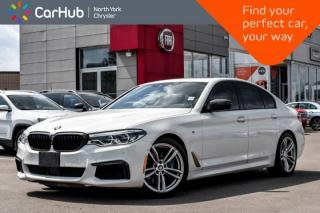 Used 2018 BMW 5 Series M550i xDrive|M.Aerodynamics.Pkg|Sunroof|Harman.Kardon|HUD|Bluetooth| for sale in Thornhill, ON