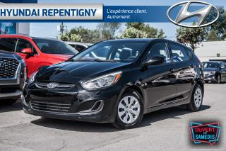 Used 2016 Hyundai Accent GL 5 PORTES**A/C, GROUPE ÉLECTRIQUE, BLUETOOTH** for sale in Repentigny, QC