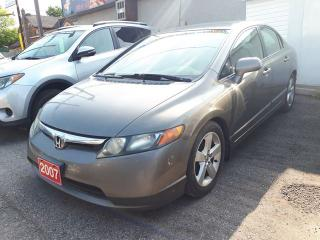 Used 2007 Honda Civic Sdn LX,Certified for sale in Oshawa, ON