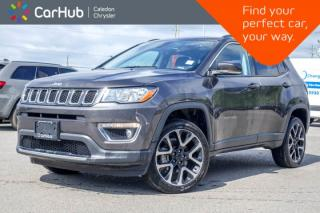 Used 2018 Jeep Compass Limited 4x4|Navi|Pano Sunroof|Bluetooth|Backup Cam|R-Start|Leather|Heated Front Seats|19