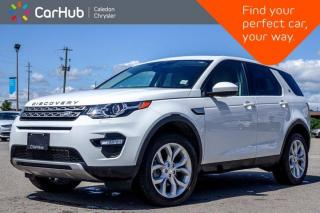 Used 2016 Land Rover Discovery Sport HSE 4x4 Navigation Panoramic Sunroof Backup Camera Bluetooth Leather 19