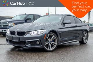 Used 2017 BMW 4 Series 440i xDrive|Navi|Sunroof|Backup Cam|Bluetooth|Leather|Heated Front Seats|19