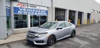 Used 2016 Honda Civic LX AUTO A/C MAG BAS KM for sale in St-Hubert, QC