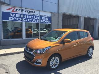Used 2019 Chevrolet Spark LT AUTO A/C MAG AVEC SEULEMENT 454KM for sale in St-Hubert, QC