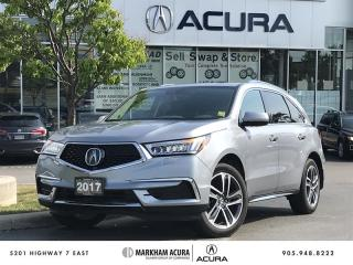 Used 2017 Acura MDX Navi SH-AWD, 3.5L V6 290HP, Power Liftgate for sale in Markham, ON