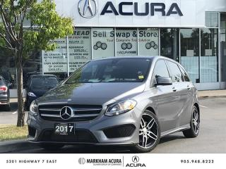 Used 2017 Mercedes-Benz B250 4MATIC Sports Tourer Premium Pkg, Sport Pkg, Versatility Pkg for sale in Markham, ON