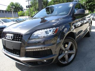 Used 2014 Audi Q7 TDI PROGRESSIV|99,000KM|NAVIGATION|ONE OWNER !! for sale in Burlington, ON