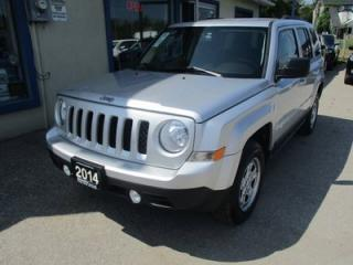 Used 2014 Jeep Patriot GAS SAVING NORTH EDITION 5 PASSENGER 2.4L - DOHC.. 4X4 SYSTEM.. CD/AUX INPUT.. KEYLESS ENTRY.. for sale in Bradford, ON