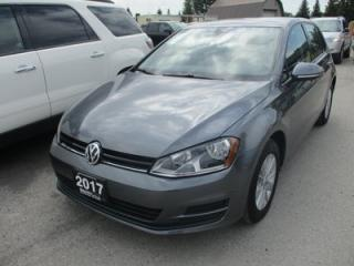 Used 2017 Volkswagen Golf GAS SAVING TSI MODEL 5 PASSENGER 1.8L - DOHC.. HEATED SEATS.. TOUCH SCREEN.. AUX/USB INPUT.. BLUETOOTH.. BACK-UP CAMERA.. for sale in Bradford, ON
