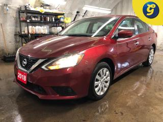 Used 2018 Nissan Sentra SV * Forward collision warning * Reverse camera * Push button ignition * Automatic headlights * Heated front seats * Telescopic/tilt steering * Dual c for sale in Cambridge, ON