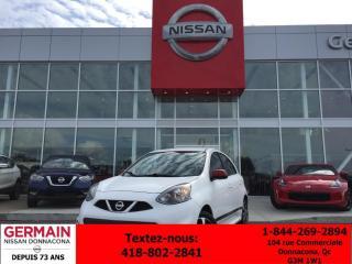 Used 2015 Nissan Micra SR *** TAUX À PARTIR DE 0.99% *** for sale in Donnacona, QC