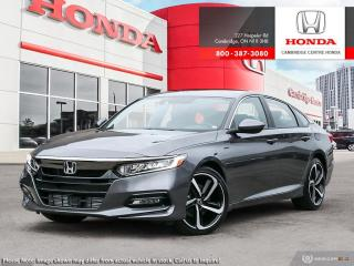 Used 2019 Honda Accord Sport 2.0T SPORT for sale in Cambridge, ON