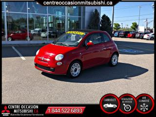 Used 2012 Fiat 500 C 500 C CONVERTIBLE AUTO for sale in St-Jérôme, QC