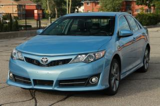 Used 2012 Toyota Camry SE V6 1-Owner | NO Accidents | Bluetooth | Heated Seats | Backup Camera | CERTIFIED for sale in Waterloo, ON