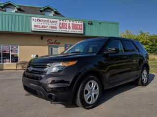 Used 2015 Ford Explorer Former Police Vehicle $107.80 BI WEEKLY! $0 DOWN! for sale in Bolton, ON
