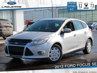 Used 2012 Ford Focus SE**A/C*GR. ELECTRIQUE*SIÈGES CHAUFFANTS** for sale in Victoriaville, QC