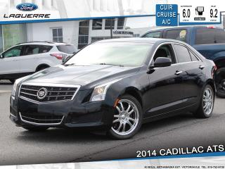 Used 2014 Cadillac ATS 2.5L RWD**CUIR*BLUETOOTH*CRUISE*A/C** for sale in Victoriaville, QC