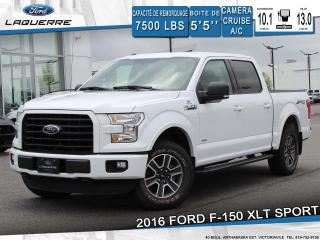 Used 2016 Ford F-150 XLT SPORT**4X4*CAMERA*BLUETOOTH*CRUISE*A/C** for sale in Victoriaville, QC