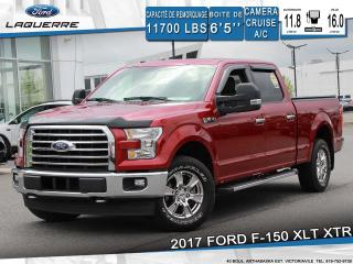 Used 2017 Ford F-150 XLT XTR**4X4*CAMERA*BLUETOOTH*CRUISE*A/C** for sale in Victoriaville, QC