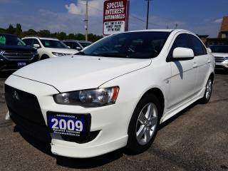 Used 2009 Mitsubishi Lancer SE for sale in Cambridge, ON