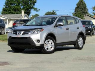 Used 2013 Toyota RAV4 LE + AWD + A/C + BLUETOOTH + CRUISE! for sale in Magog, QC