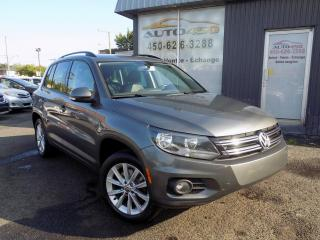 Used 2012 Volkswagen Tiguan ***AWD,HIGHLINE,AUTOMATIQUE,CUIR,TOIT PA for sale in Longueuil, QC