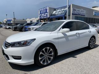 Used 2014 Honda Accord Sport CAMERA|HEATED SEATS|BLUETOOTH|CERTIFIED for sale in Concord, ON