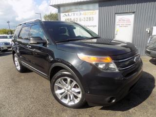 Used 2011 Ford Explorer ***LIMITED,AWD,7 PLACES,CUIR,TOIT,NAV*** for sale in Longueuil, QC