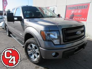 Used 2013 Ford F-150 FX4  SUPER-CREW ECOBOOST MAG A/C ENS REMORQUAGE for sale in St-Jérôme, QC