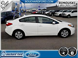 Used 2016 Kia Forte LX GROUPES ELECTRIQUES BLUETOOTH for sale in Rimouski, QC