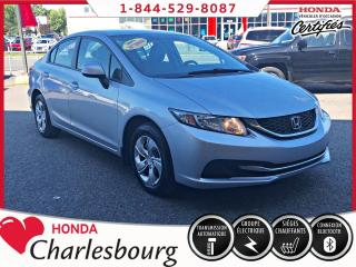 Used 2013 Honda Civic LX**AUTOMATIQUE** for sale in Charlesbourg, QC