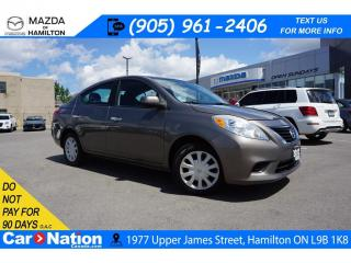 Used 2012 Nissan Versa 1.6 SV | A/C | AUX INPUT | CD PLAYER for sale in Hamilton, ON